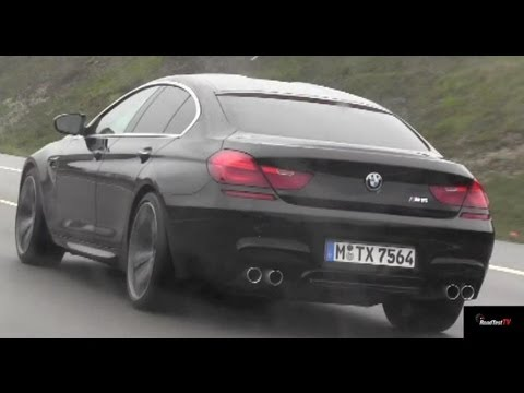 2017 Bmw M6 Gran Coupe 4 Door On The Autobahn Road Test Tv