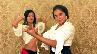 Kinna Sona | Flamenco - Belly Dance Fusion ft Meher Malik & Shehzeen Cassum