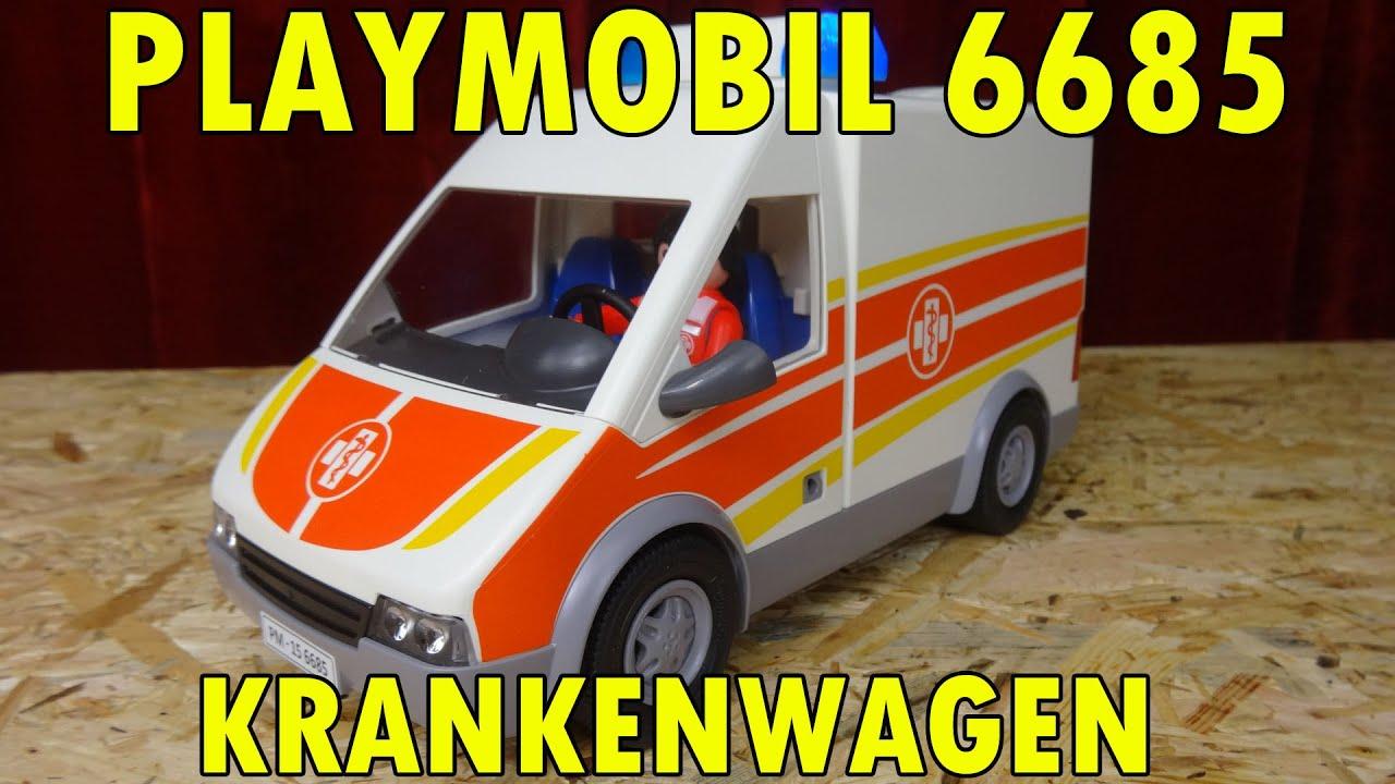 playmobil 6685 krankenwagen mit licht und sound. Black Bedroom Furniture Sets. Home Design Ideas