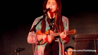 "Jason Castro ""Somewhere Over The Rainbow"" Hawaiian Bruddah Iz version,  Alameda County, Ca."