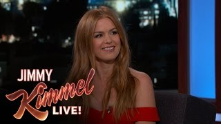 Repeat youtube video Isla Fisher on Making Out with Zach Galifianakis & Gal Gadot