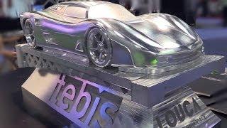 metal cutting magic tebis 3d cad cam software demo westec 2013