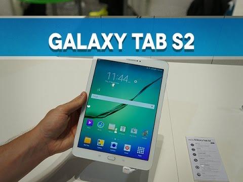 "Samsung Galaxy Tab S2 (9.7""/8""), prise en main - Test Mobile"