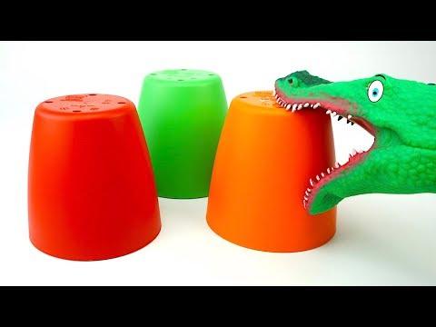 Открываем сюрпризы для детей вместе с крокодилом Татошей