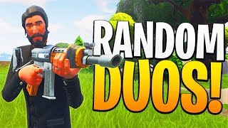 Random Duos! / 155+ Wins *Pro Fortnite Player* / HUGE Giveaway At 5k!