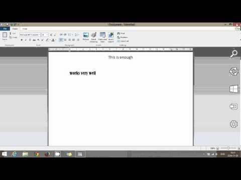 Windows Wordpad Free Basic Word Processor