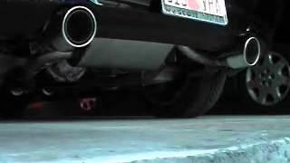 g35 coupe stock exhaust vs borla exhaust