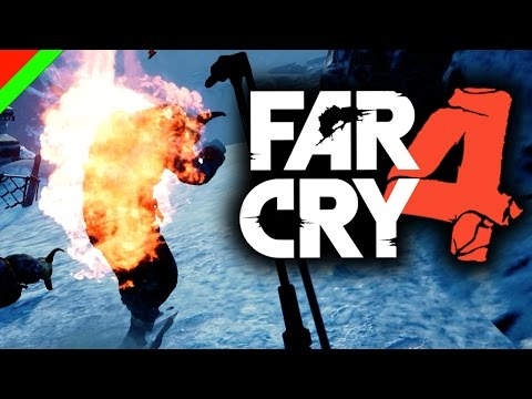 เผาาาา!!! - FARCRY4 : Valley of The Yetis (DLC,ตลก,ฮา)