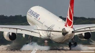 HARD Airbus 330 LANDING - ASKCargo 008#