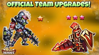 Idle Heroes (O) - Big Official Lineup Improvements! - Testing The New Team!