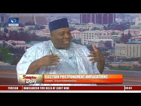 Okupe Says Nigerians Are Unfazed By Postponement But Bent On Voting Out Incumbent Pt.1
