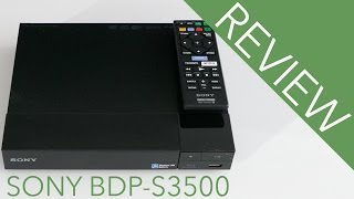 Sony BDP S3500 Blu-ray Player Review!!
