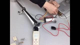 compressor air horn 450MM
