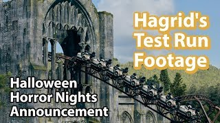 Universal Studios Announcement &amp Updates Hagrid&#39s Coaster Testing Jurassic Coaster ...
