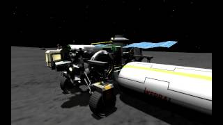 KSP - Testing a heavy Rover
