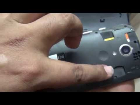 How to insert Micro-Sim in New Motorola Moto G (2nd Edition) (Hindi) (1080p HD)