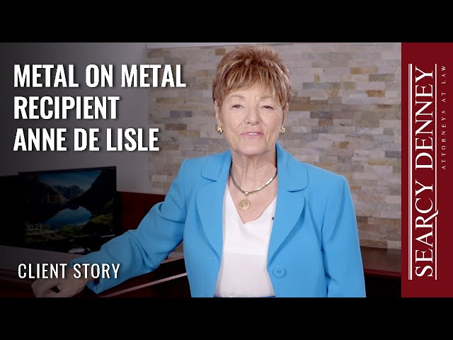 Metal on Metal Hip Recipient Anne De Lisle