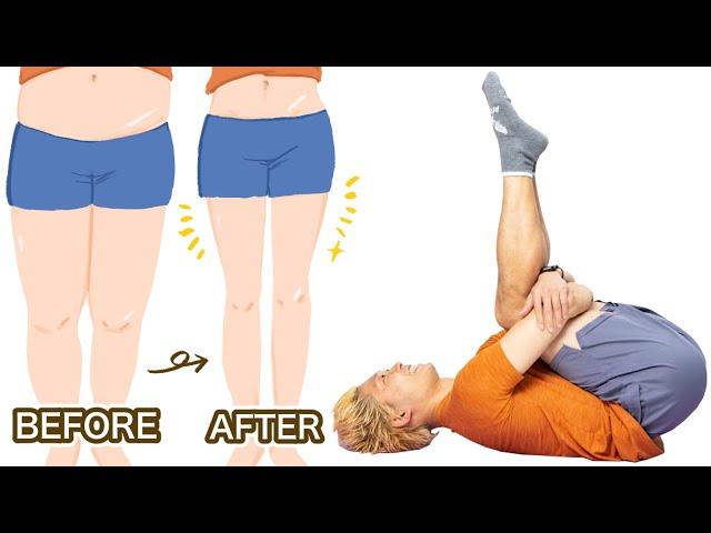 【5分】寝たまま、ぽっちゃり下半身が倍速で引き締まるトレーニング | 高稲達弥
