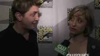 Allison Mack Talks To Jason C. At Comic-Con 2008