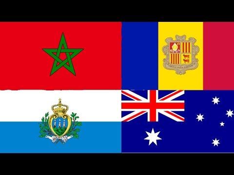 My Top 18: Morocco, Andorra, San Marino, Australia (Eurovision)