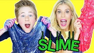 ULTIMATE CEREAL SLIME CHALLENGE WITH REBECCA ZAMOLO!!