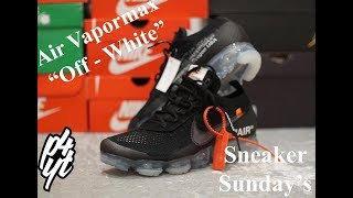Air Vapormax Nike X Off - White Unboxing And Full Detailed Review (4K)