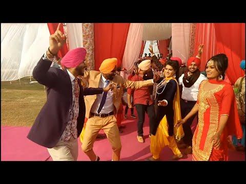 bhangra punjabi 👳 been baja dance  nachar with jaanmahal video bhangra punjabi