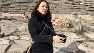 Fiz Greece Travel Vlog: Day 2 at Delphi, Greece