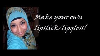 How to make instant lipstick and lipgloss from eyeshadow!  (re-upload) Thumbnail