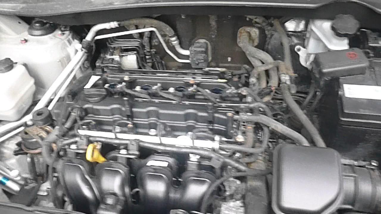 стук в двигателе hyundai tucson