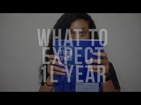 The Legally Black Diaries: What To Expect During Your First Year Of Law School!  (1L Year) E.4