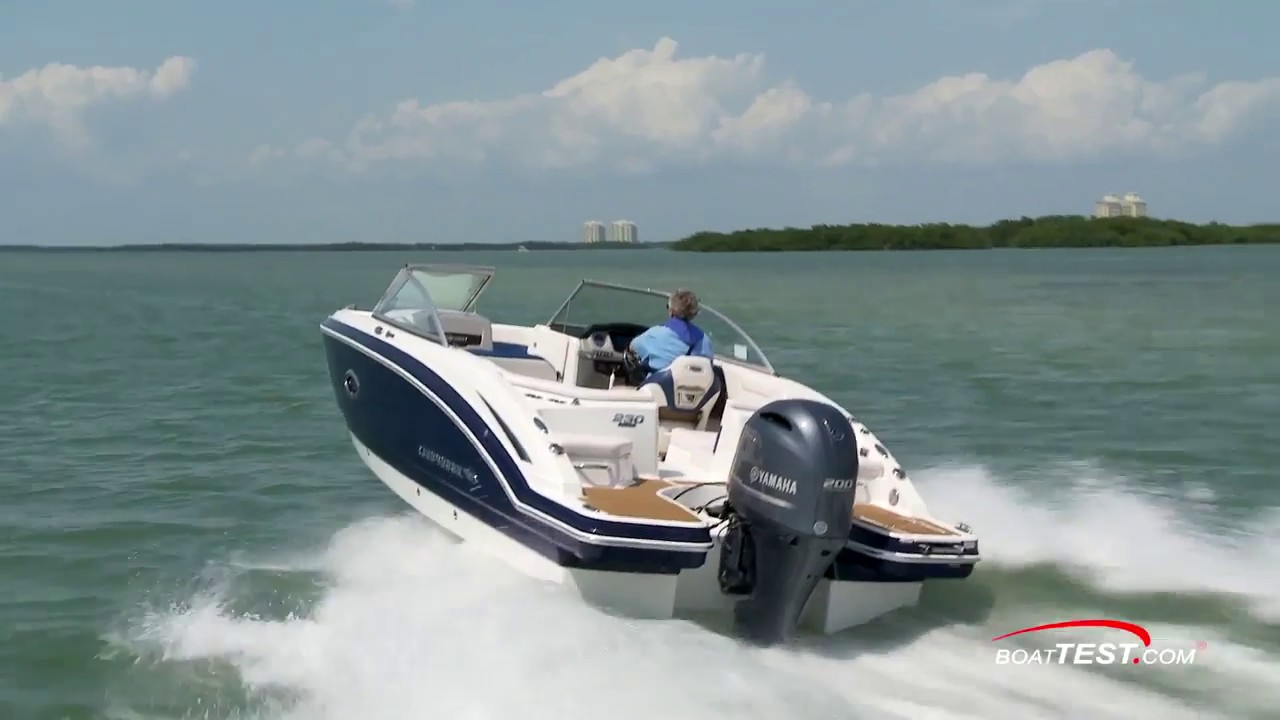 2017 Chaparral 230 SunCoast 23 Outboard Runabout