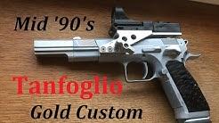 Mid '90's Tanfoglio 'Dedicated Bowling Pin Open Gun'  Custom .45 ACP