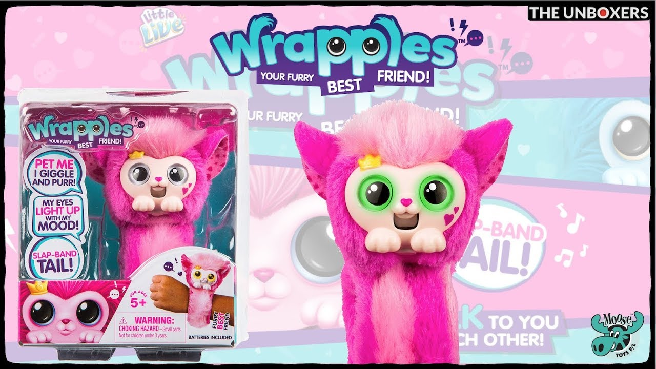 Little Live Wrapples Pink Princeza