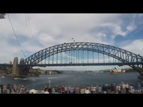 Time Lapse Sailing out of Sydney Harbour (V2.0)