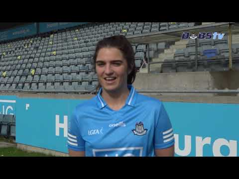Dublin Ladies footballer Niamh Collins chats to DubsTV ahead of Championship throw-in