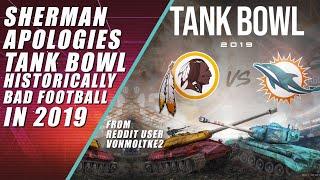 Tank Bowl, Richard Sherman Apologizes & Brown Begs Patriots for Job
