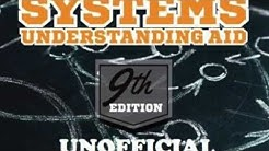 Solution Manual - System Understanding Aid 9th Ed List A