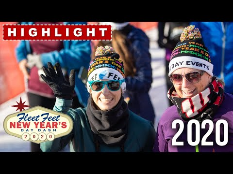 2020 New Year's Day Dash Highlights