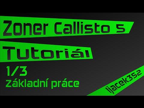 Tutoriál - Zoner Callisto 5 - část 1/3 - Základní Práce - Ijáček352