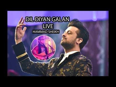 Dil Diyan Gallan - Cover   Tigar Zinda Hai   Hammad Sheikh live