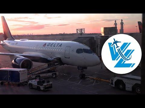 TRIP REPORT: Delta Airbus A220 - LOVE At First Flight - Delta Comfort+