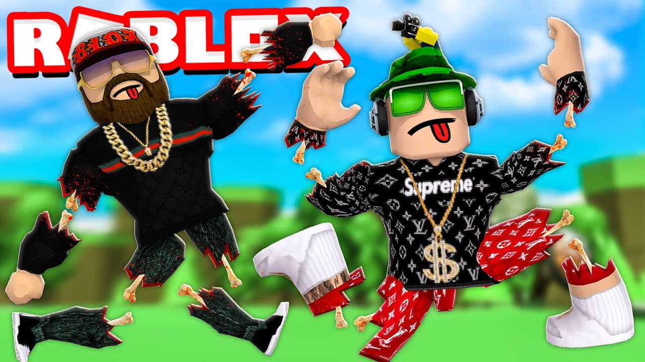 I Broke Every Single Bone In My Body    Roblox Broken Bones