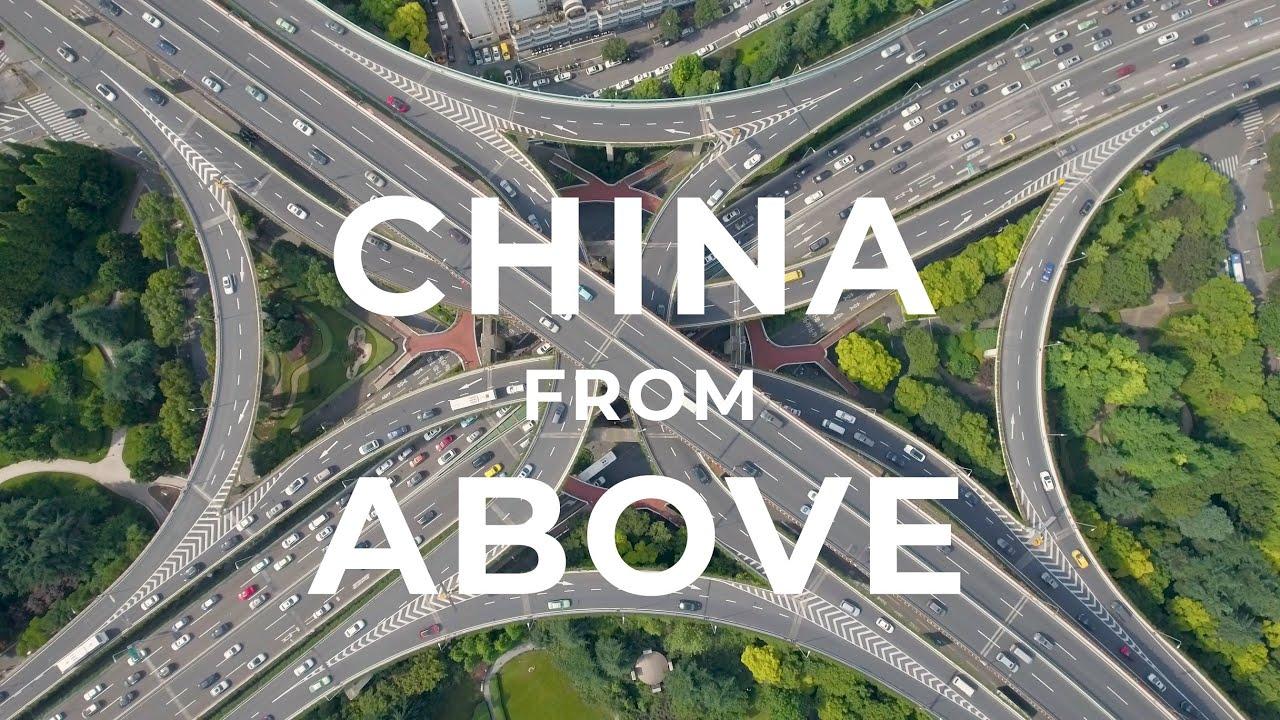 China a vista de dron: este espectacular vídeo muestra el país asiático desde las alturas