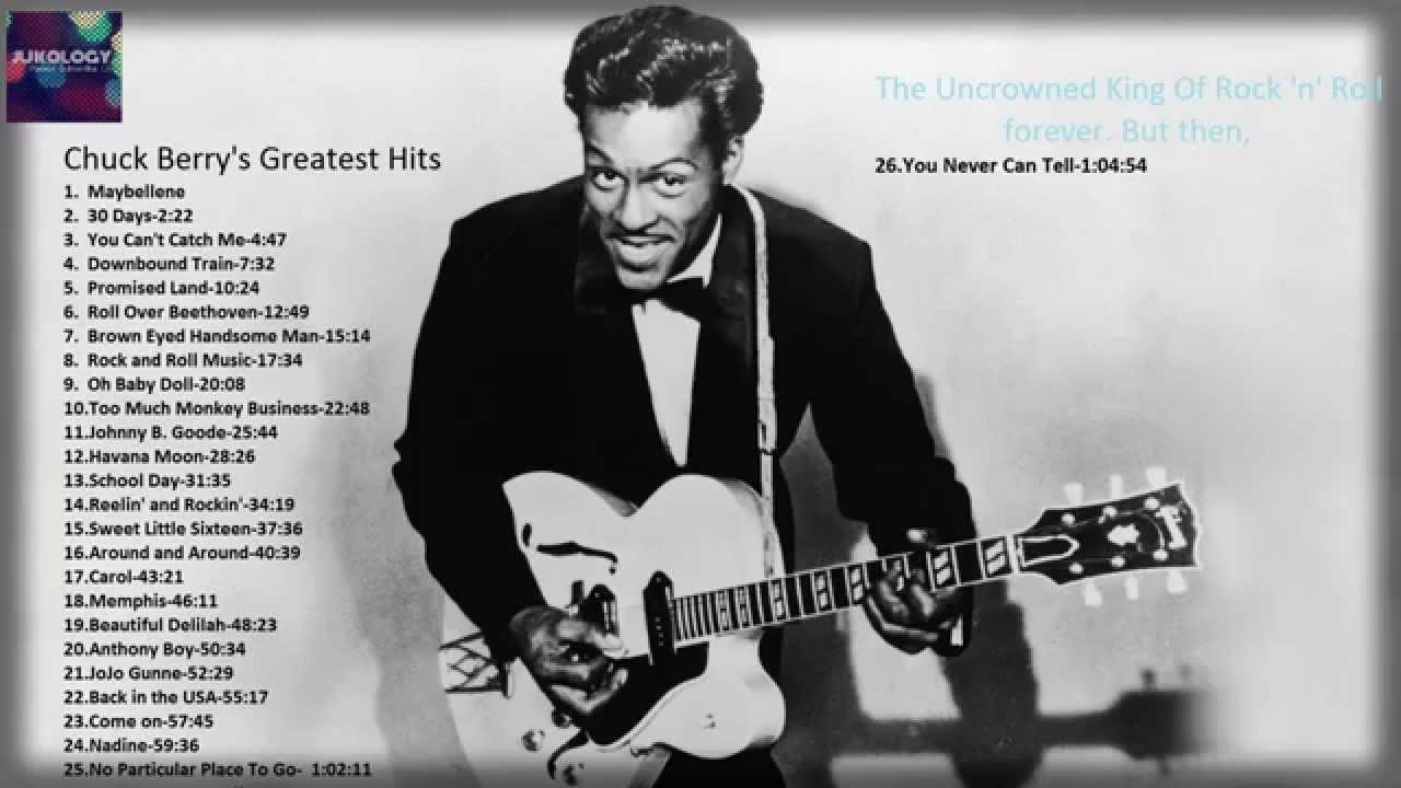 Chuck Berry - You Never Can Tell Lyrics | MetroLyrics