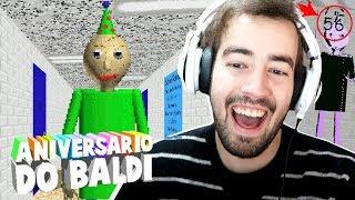 NÃO VENHAM AO ANIVERSÁRIO DE BALDI!!! | Descobri a IDADE DO BALDI