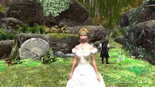 Skyrim Romance 3.1 Part 10 Marrying the One (censored)