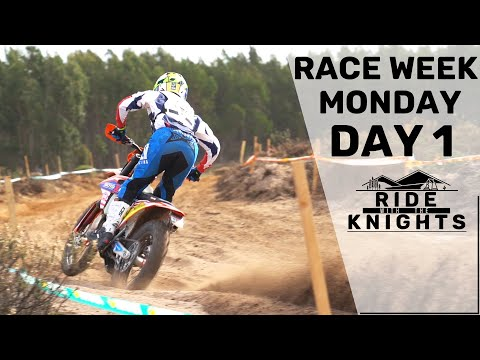 Josh to Portugal ISDE 2019   Race Week - Day 1