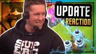 Clash Royale FULL UPDATE Reaction :: New Cards, Arena, Chests *NO GAMEPLAY UNTIL 12.12*