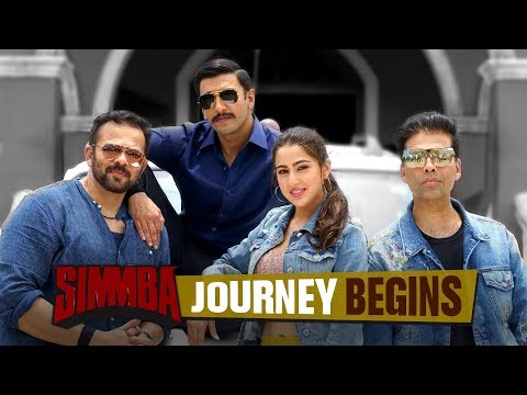 Simmba Journey Begins | Ranveer Singh | Sara Ali Khan | Rohit Shetty | December28